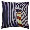 World Menagerie Hasan Zebra Scatter Cushion