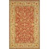 Rosalind Wheeler Shandra Handmade Red/Gold Area Rug