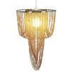 Home Loft Concept Young Living 1 Light Crystal Pendant