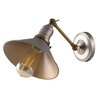 MiniSun Industrial 1 Light Armed Sconce
