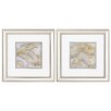 Mercer41™ Agate Allure 2 Piece Framed Graphic Art Set