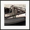 David & David Studio 'Boat Black 2' by Laurence David Framed Photographic Print