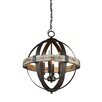 Laurel Foundry Modern Farmhouse Pearl 4-Light Candle-Style Chandelier