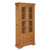 Hazelwood Home Walmer Display Cabinet