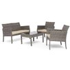 Home Loft Concept Dakar 4 Seater Sofa Set