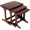 Home & Haus Hugon 3 Piece Nest of Tables