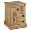 Andover Mills Corona Petite 1 Drawer Bedside Table