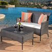 Andover Mills Louella 2 Piece Lounge Seating Group