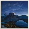 Photographers Lane Starry Night at Mount Assiniboine Framed Photographic Print