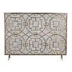 Latitude Vive Rockwell Single Panel Iron Fireplace Screen