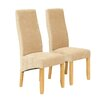 Willis and Gambier Wavey Upholstered Dining Chair