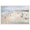 Marmont Hill 'Fun in the Cote D'Azur' by Irena Orlov Framed Painting Print