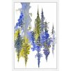 Marmont Hill 'Mystical Forest' by Emily Magone Framed Graphic Art