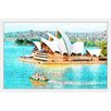 Marmont Hill 'Sydney Opera House' by Didi Framed Graphic Art