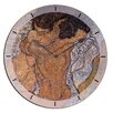 "House Additions Oversized 60"" Schiele 'The Hug' Wall Clock"