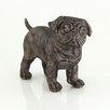 House Additions Plastic Standing Pug Figurine
