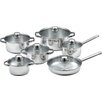 king Silver Line 6 Piece Cookware Set
