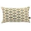 Yorkshire Fabric Shop Ella Ikat Lumbar Cushion