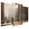 Bilderdepot24 Retro Morning 3-Piece Photographic Print on Canvas Set