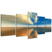 Bilderdepot24 Sky 5 Piece Photographic Print on Canvas Set