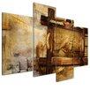 Bilderdepot24 Retro Ship 4 Piece Graphic Art on Canvas