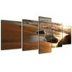 Bilderdepot24 The Beach 5-Piece Photographic Print on Canvas Set
