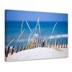 Bilderdepot24 Sand Dune Ocean Framed Photographic Print on Canvas