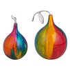Finesse Décor 2 Piece Forbidden Fruit Sculpture Set