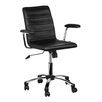 Premier Housewares Mid-Back Executive Chair with Adjustable Arm