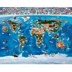 dCor design Map of the World 304.8cm x 243.84cm Wall Mural
