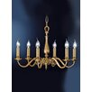 Franklite Cantabria 6 Light Candle Chandelier