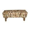 Bel Étage Upholstered Bedroom Bench