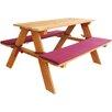 Habau Children's Rectangular Picnic Table