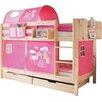TICAA Marcel Single High Sleeper Bed Incl. Mattresses