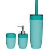 Sealskin Bloom 3-Piece Bathroom Accessory Set