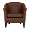 Castleton Home Fulham Leather Armchair