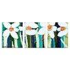 Artist Lane 'Fisher Davies' 3 Piece Painting Print Set on Canvas