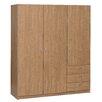 Hokku Designs Varia 33 3 Door Wardrobe
