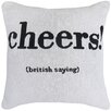 Park B Smith Ltd Cheers Tapestry Decorative Throw Pillow