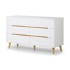 Fjørde & Co Dylan 6 Drawer Sideboard