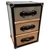 All Home Luggage 3 Drawer Side Chest