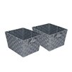Honey Can Do Woven Basket (Set of 2)