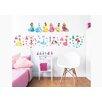 dCor design Disney Princess 3 Piece Wall Sticker Set