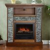 """Loon Peak Santino 33"""" TV Stand with Electric Fireplace"""