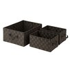 Honey Can Do Woven 3 Piece Basket Set