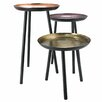 Castleton Home Complements Round 3 Piece Nest of Tables