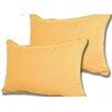 Beachcrest Home Wyckoff Reversible Outdoor Lumbar Pillow (Set of 2)