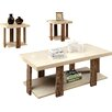 Wade Logan Dunlevy 3 Piece Coffee Table Set