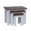 Hazelwood Home The Priory 3 Piece Coffee Table Set