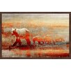 Alpen Home 'Goldie Lock' Framed Painting Print on Paper